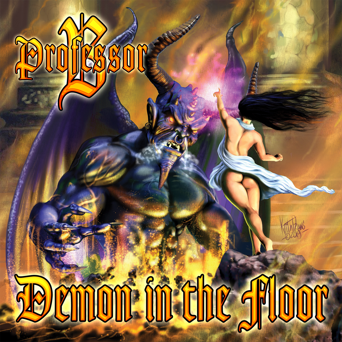 Demon in the Floor - an album by Professor B